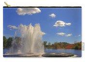 Aspetuck Reservoir Carry-all Pouch by Joann Vitali