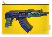 Assault Rifle Pop Art - 20130120 - V2 Carry-all Pouch