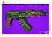 Assault Rifle Pop Art - 20130120 - V4 Carry-all Pouch