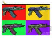 Assault Rifle Pop Art Four - 20130120 Carry-all Pouch