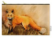 Assessing The Situation Antiqued Carry-all Pouch