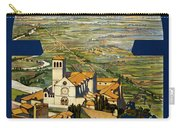 Assisi Italy Carry-all Pouch by Georgia Fowler