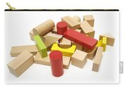 Assorted Building Blocks Carry-all Pouch