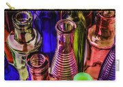 Assorted Colored Bottles Carry-all Pouch