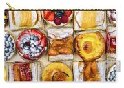 Assorted Tarts And Pastries Carry-all Pouch by Elena Elisseeva