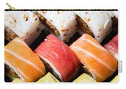 Assortment Of Sushi Carry-all Pouch