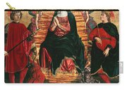 Assumption Of Mary With Sts Minias And Julian Carry-all Pouch