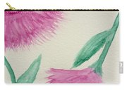 Aster In The Pink Carry-all Pouch