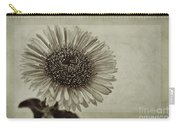 Aster With Textures Carry-all Pouch