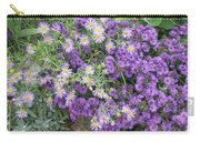 Asters Light And Dark Carry-all Pouch