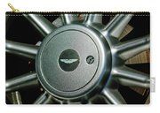 Aston Martin Db7 Wheel Emblem Carry-all Pouch