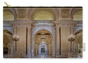 Astor Hall At The New York Public Library Carry-all Pouch