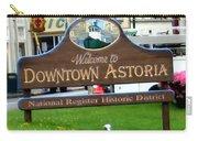 Astoria Oregon Carry-all Pouch