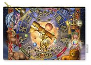 Astrology Carry-all Pouch by Ciro Marchetti