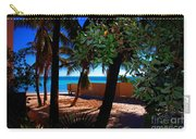 At Dog's Beach In Key West Carry-all Pouch by Susanne Van Hulst
