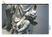 At Her Feet In A Garden Allegory Carry-all Pouch