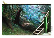 At Home In Her Forest Keep - Pacific Northwest Carry-all Pouch