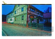 At Night In Thuringia Village Germay Carry-all Pouch