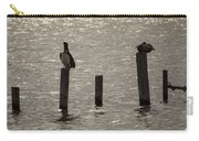 Seadrift Texas Birds At Rest Carry-all Pouch
