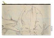At The Cafe Carry-all Pouch by Henri de Toulouse-Lautrec