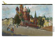 At The Cathedral Of Vasily The Blessed Carry-all Pouch