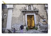 At The Church - Child's Curiosity - Sicily Carry-all Pouch