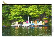 At The Cottage Dock Carry-all Pouch