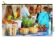 At The Farmer's Market Carry-all Pouch
