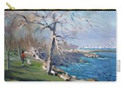At The Park By Lake Ontario Carry-all Pouch