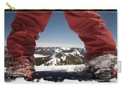At The Top Of The Mountain Carry-all Pouch