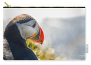 Atalantic Sea Puffin In Close Up Carry-all Pouch