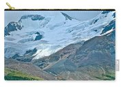 Athabasca Glacier Along Icefields Parkway In Alberta Carry-all Pouch