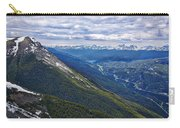 Athabasca River Valley - Jasper Carry-all Pouch