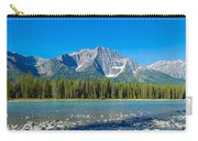 Athabasca River With Mountains Carry-all Pouch