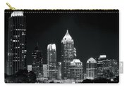 Atlanta Black And White Night Carry-all Pouch