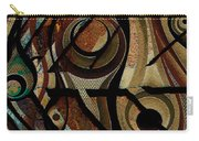 Atlanta Earth Abstract Art Carry-all Pouch