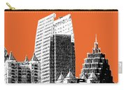Atlanta Skyline 2 - Coral Carry-all Pouch