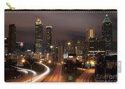Atlanta Skyline At Dusk Carry-all Pouch