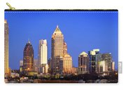 Atlanta Skyline At Dusk Midtown Color Panorama Carry-all Pouch