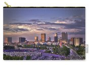 Atlanta Sunset Fulton County Stadium Braves Game  Carry-all Pouch