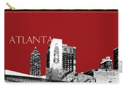 Atlanta World Of Coke Museum - Dark Red Carry-all Pouch