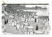 Atlantic City Boardwalk 1940 Carry-all Pouch