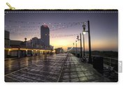 Atlantic City Boardwalk In The Morning Carry-all Pouch