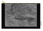 Atlantic Cod Fish Sketch Carry-all Pouch