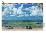 Atlantic Ocean At Smathers Beach In Key Carry-all Pouch