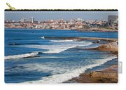 Atlantic Ocean Coast In Cascais And Estoril Carry-all Pouch