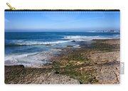 Atlantic Ocean Shore In Estoril Carry-all Pouch