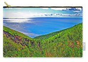 Atlantic Ocean View Point From Cape Breton Highlands National Park-nova Scotia Carry-all Pouch