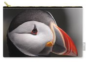 Atlantic Puffin Portrait Carry-all Pouch