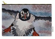 Atlantic Puffin - Set 2 Of 3 Carry-all Pouch